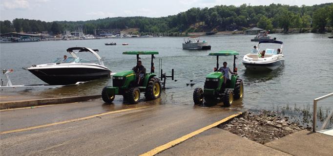 John Deere Boat : John deere quot boat tractor mytractorforum the
